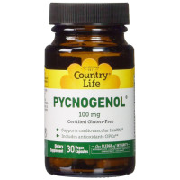 Country Life, Pycnogenol, 100 mg - 30 Veggie Caps