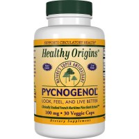 Healthy Origins, Pycnogenol, 100 mg - 30 Veggie Caps