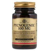 Solgar, Pycnogenol, 100 mg - 30 Vegetable Capsules