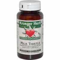 Kroeger Herb, Complete Concentrates, Milk Thistle - 90 Veggie Caps