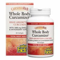 Natural Factors, CurcuminRich, Whole Body Optimizer - 60 Softgels