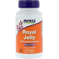Now Foods, Royal Jelly, 1000 mg - 60 Softgels