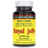 Y.S. Eco Bee Farms, Royal Jelly, 2,000 mg - 35 Capsules
