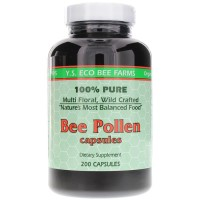 Y.S. Eco Bee Farms, Bee Pollen, 1000 mg - 200 Capsules