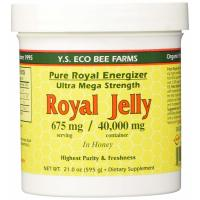 Y.S. Eco Bee Farms, Royal Jelly, Pure Royal Energizer, 675 mg - 21.0 oz (595 g)