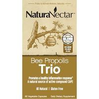NaturaNectar, Bee Propolis Trio - 60 Veggie Caps