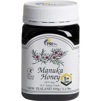 PRI, 100% Raw Manuka Honey 5+, 1.1 lbs (500 g)