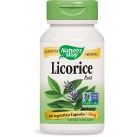 Nature's Way, Licorice Root, 450 mg - 100 Veggie Caps