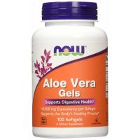Now Foods, Aloe Vera Gels - 100 Softgels