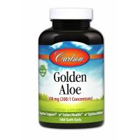 Carlson Labs, Golden Aloe, 100 mg - 180 Soft Gels