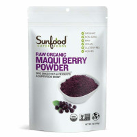 Sunfood, Raw Organic Maqui Berry Powder - 4 oz (113 g)