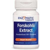 Enzymatic Therapy, Coleus Forskohlii Extract, Heart Health - 60 Veggie Caps