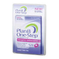 Plan B, One Step, Emergency Contraceptive - 1 Tablet