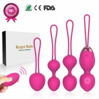 Y.Love, 2 in 1 Kegel Exercise Weights & Massage Ball Ben Wa Balls Sets