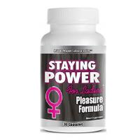 MaritzMayer Laboratories, Staying Power Female Enhancement Pleasure Formula - 30 Capsules