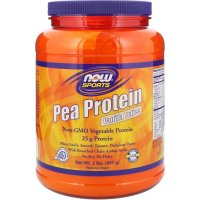 Now Foods, Sports, Pea Protein, Vanilla Toffee - 2 lbs (907 g)