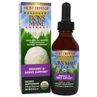 Fungi Perfecti, Host Defense Mushrooms, Organic Lion's Mane Extract, Memory & Nerve Suppor