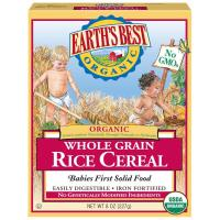 Earth's Best, Organic Rice Cereal - 8 oz (227 g)