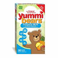 Hero Nutritional, Yummi Bears, Complete Multi-Vitamin, Natural Fruit Flavors - 90 Gummy Be