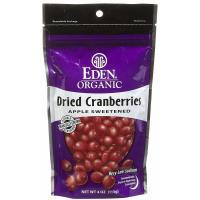Eden Foods, Organic Dried Cranberries - 4 oz. (113 g)