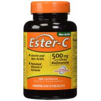 American Health, Ester-C with Citrus Bioflavonoids 500 mg. - 120 Veggie Caps