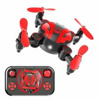 HSKE, Mini Drone, One-key Landing & Take-off Quadcopter, Intelligent Fixed Altitude, 3 Spe