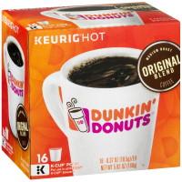 Dunkin' Donuts, Keurig Original Blend K-Cup Coffee 16 ct - 5.93 oz (168 g)