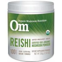 OM Organic Mushroom Nutrition, Reishi, Mushroom Powder - 7.14 oz (200 g)
