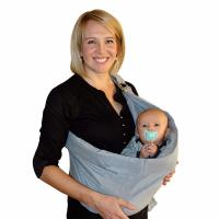 BabyWombWorld, Ergonomically-Designed Carrier Designed for Newborns, Infants & Toddlers