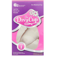 Diva Cup, Diva Feminine hygiene Menstrual Cup Model #1 (Pre Childbirth)