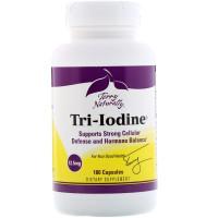 EuroPharma, Terry Naturally, Tri-Iodine, 12.5 mg - 180 Capsules