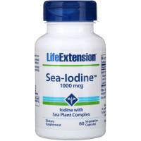 Life Extension, Sea-Iodine, 1000 mcg - 60 Veggie Caps