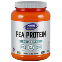 Now Foods, Sports, Pea Protein, Natural Unflavored - 2 lbs (907 g)
