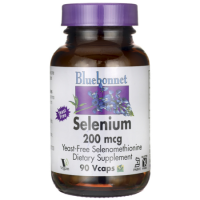 Bluebonnet Nutrition, Selenium, Yeast-Free Selenomethionine, 200 mcg - 90 Veggie Caps