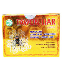 Tawon Liar, 100% Natural Herbs with Extract of Wild Bee Honey - 40 Capsules