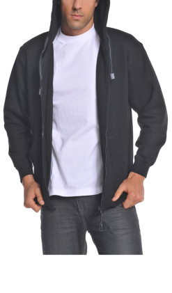 Men's Heavyweight Full Zip Hoodie