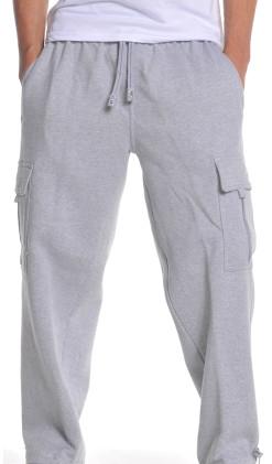 Men's Fleece Cargo Pants