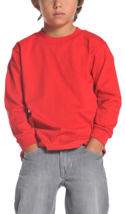 Youth Long Sleeve Crew Neck Tee