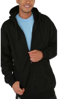 Men's Full Zip Hood Comfort