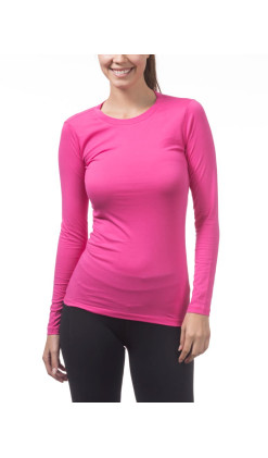 Women's Long Sleeve Crew Neck Tee