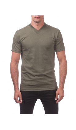 Men's Comfort Short Sleeve V-Neck Tee