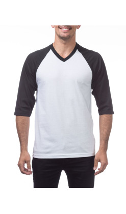 Men's Baseball Tee V - Neck