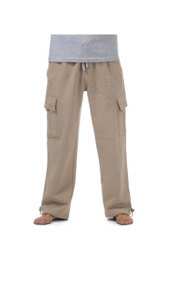 Men's Heavyweight Fleece Cargo Pants