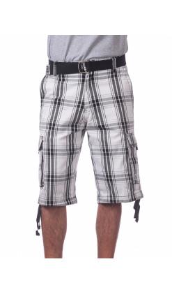 Twill Cargo Shorts
