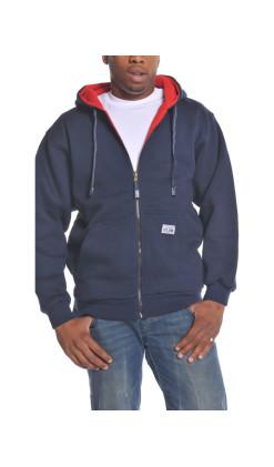 Men's Reversible Full Zip Hoodie
