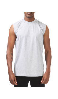 Heavyweight Sleeveless Muscle T-Shirt