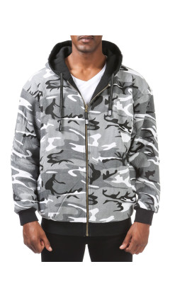 Men's Reversible Full Zip Hoodie