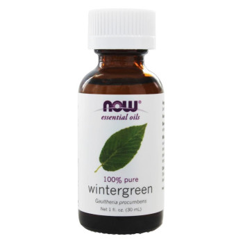 Now Foods, Essential Oils, Wintergreen - 1 fl oz (30 ml)