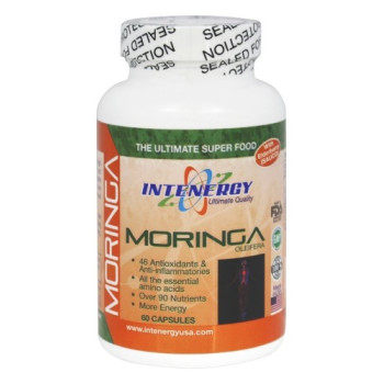 Intenergy, Moringa with Elderberry Sauco - 60 Capsules