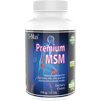 MaxLife, i-Max®, Premium MSM, 1500 mg - 120 Veggie Tablets (Buy 1, Get 1 Free~!)